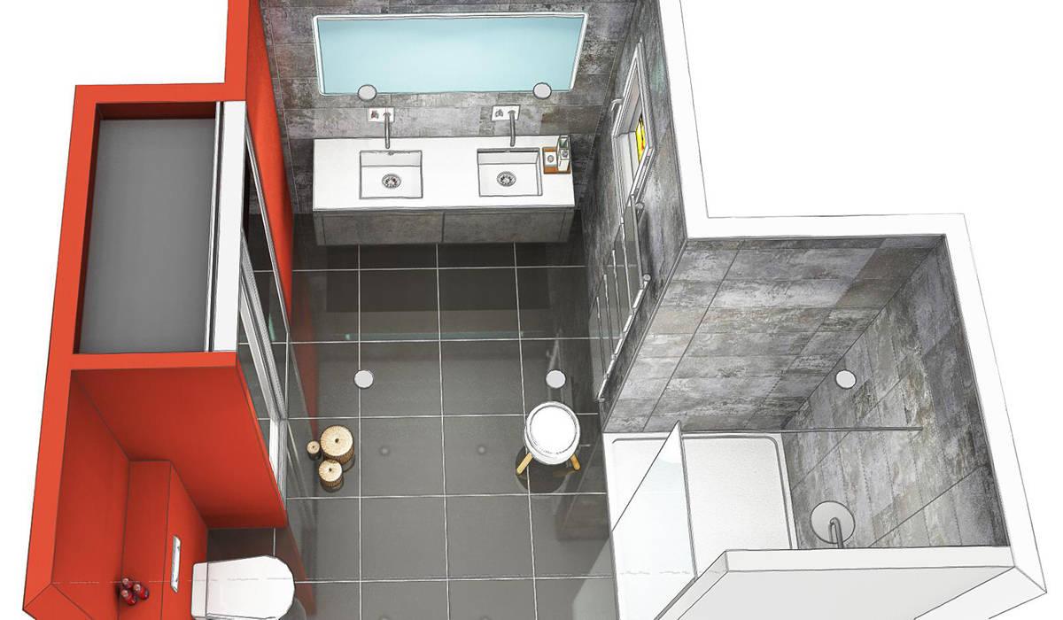 Projet rénovation salle de bain Bourgoin Jallieu