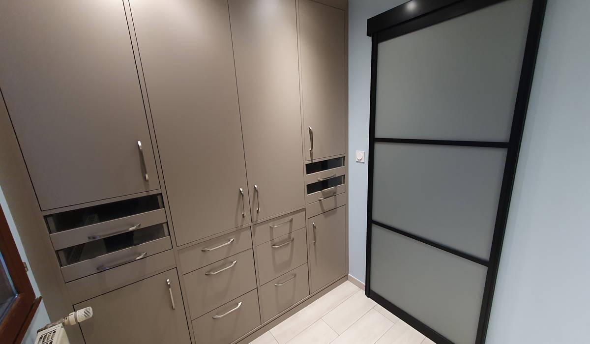 Projet rénovation dressing Bourgoin Jallieu